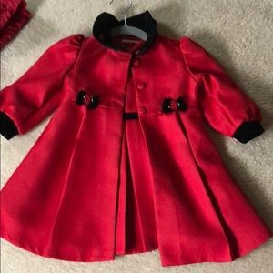 Bonnie baby holiday dress and coat 18 month